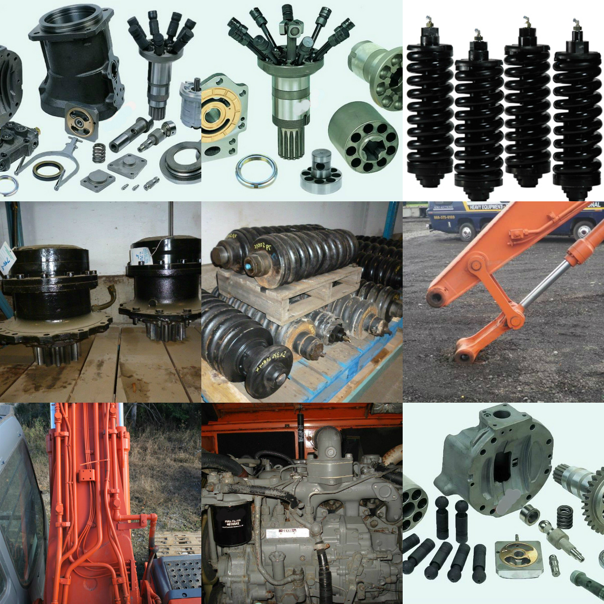 Hitachi equipment range