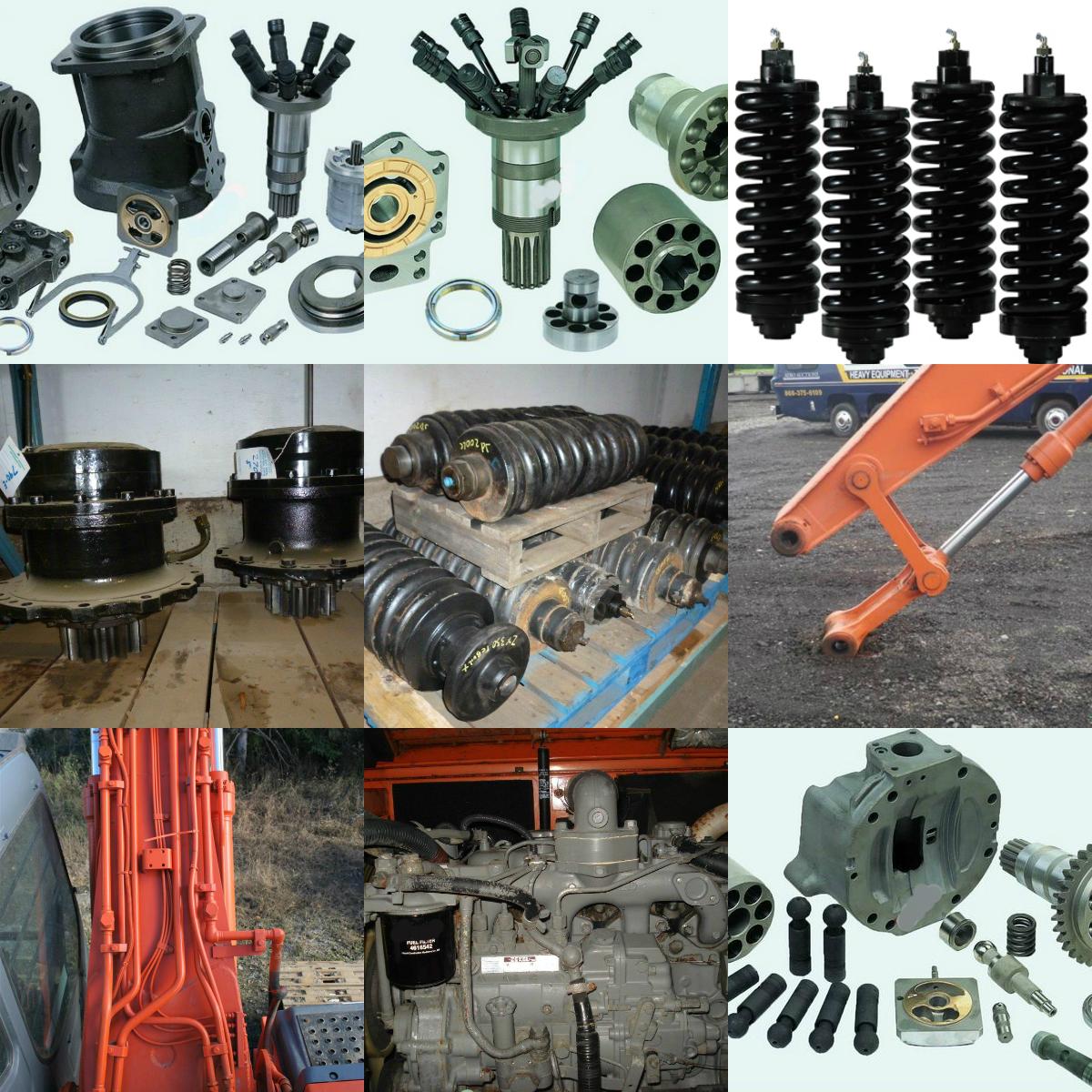 Hitachi equipment range